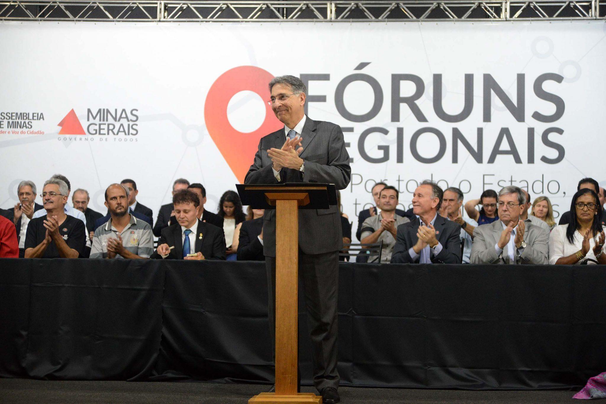 FERNANDO PIMENTEL ANUNCIA INVESTIMENTOS PARA O TERRITÓRIO DO TRIÂNGULO SUL