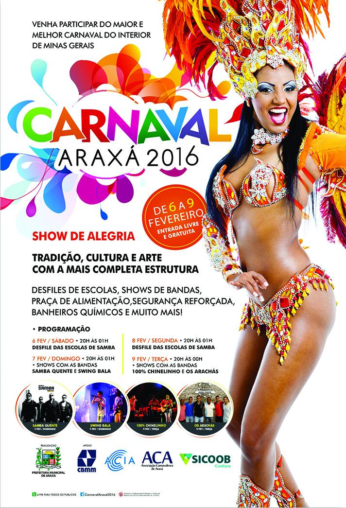 Carnaval Araxá 2016
