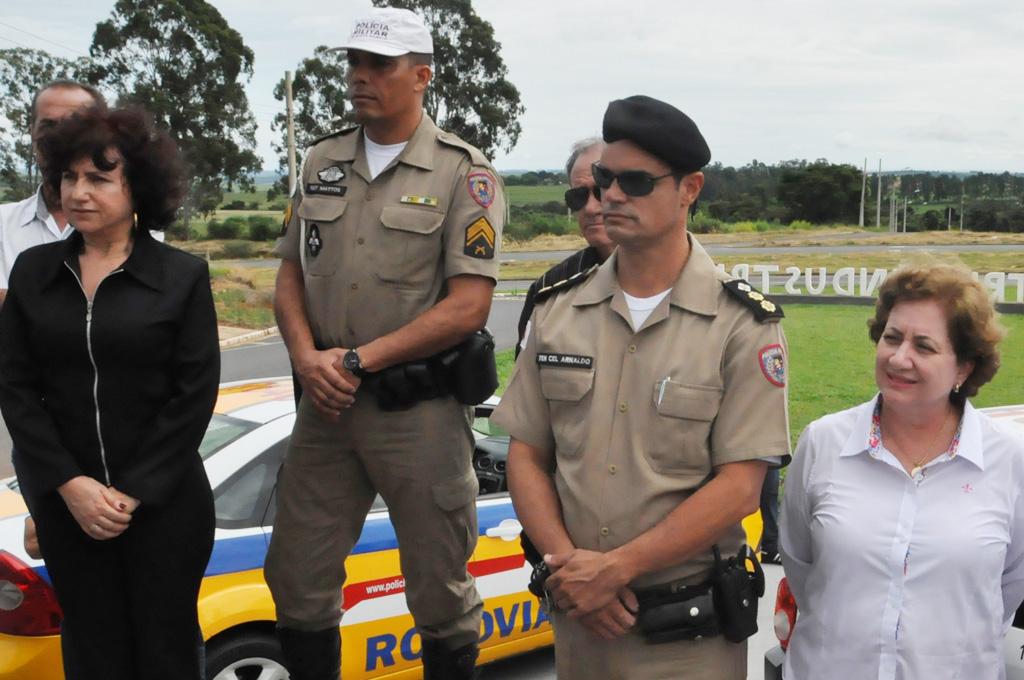 PREFEITURA PARTICIPA DO LANÇAMENTO DO PONTO DE APOIO DA PM