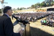 FERNANDO PIMENTEL PARTICIPA DA FORMATURA DE 945 INVESTIGADORES DA POLÍCIA CIVIL DE MINAS GERAIS