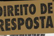 DIREITO DE RESPOSTA DO DEPUTADO MARCOS MONTES