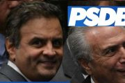 PSDB CHUTA O RABO DO POVO E MANTÉM APOIO AO CORRUPTO MICHEL TEMER