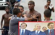 VIOLÊNCIA EXPLODE NO BRASIL E POLÍTICOS MORREM DE RIR DA DESGRAÇA DO POVO
