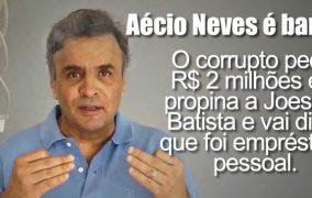 AÉCIO NEVES DIZ QUE OS MINEIROS APOIAM SUA VOLTA AO GOVERNO DE MINAS