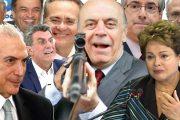 OS POLÍTICOS CORRUPTOS VAGABUNDOS DO BRASIL