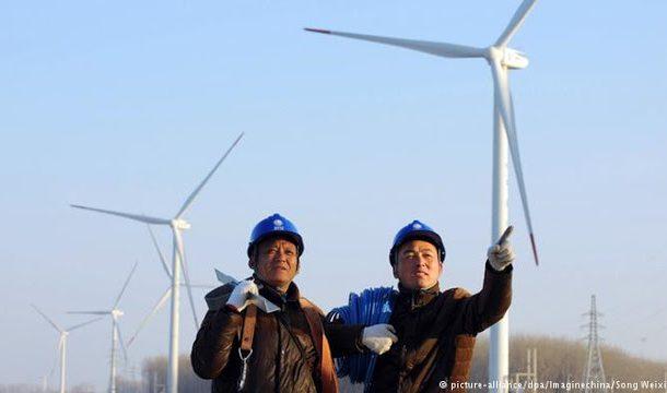 CHINA ASSUME PAPEL DE LIDERANÇAS EM ENERGIAS RENOVÁVEIS