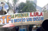 STF: SE LULA FOR PRESO, MORADORES DA ROCINHA AMEAÇAM DESCER O MORRO