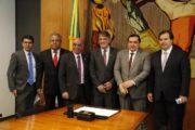 RECURSOS FEDERAIS: PREFEITO ARACELY ASSINA CONVÊNIO COM O MINISTÉRIO DA INTEGRAÇÃO NACIONAL